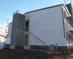 Maçonnerie pour bâtiments industriels cage d'ascenseur