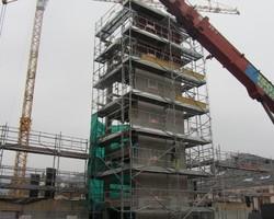 Maçonnerie pour bâtiments industriels Cage d'ascenseur en voile béton ou préfabriqué