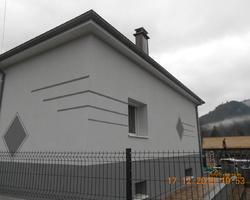 Isobat Est - Neuvilliers-sur-Fave - isolation Extérieure en polystyrène Réalisation de motifs